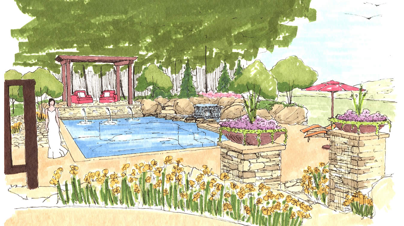 kansas city pool design and consultation given pool